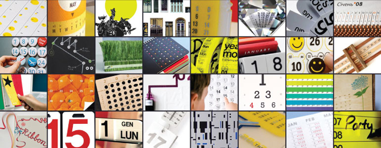 Museum of Creative Calendar Design – Calendar Sample Design